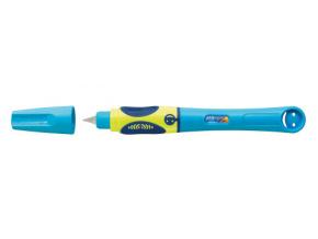 Fountain pen griffix Neon Fresh Blue for left handers, horizontal, open 56101 web