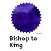 Bishop to king