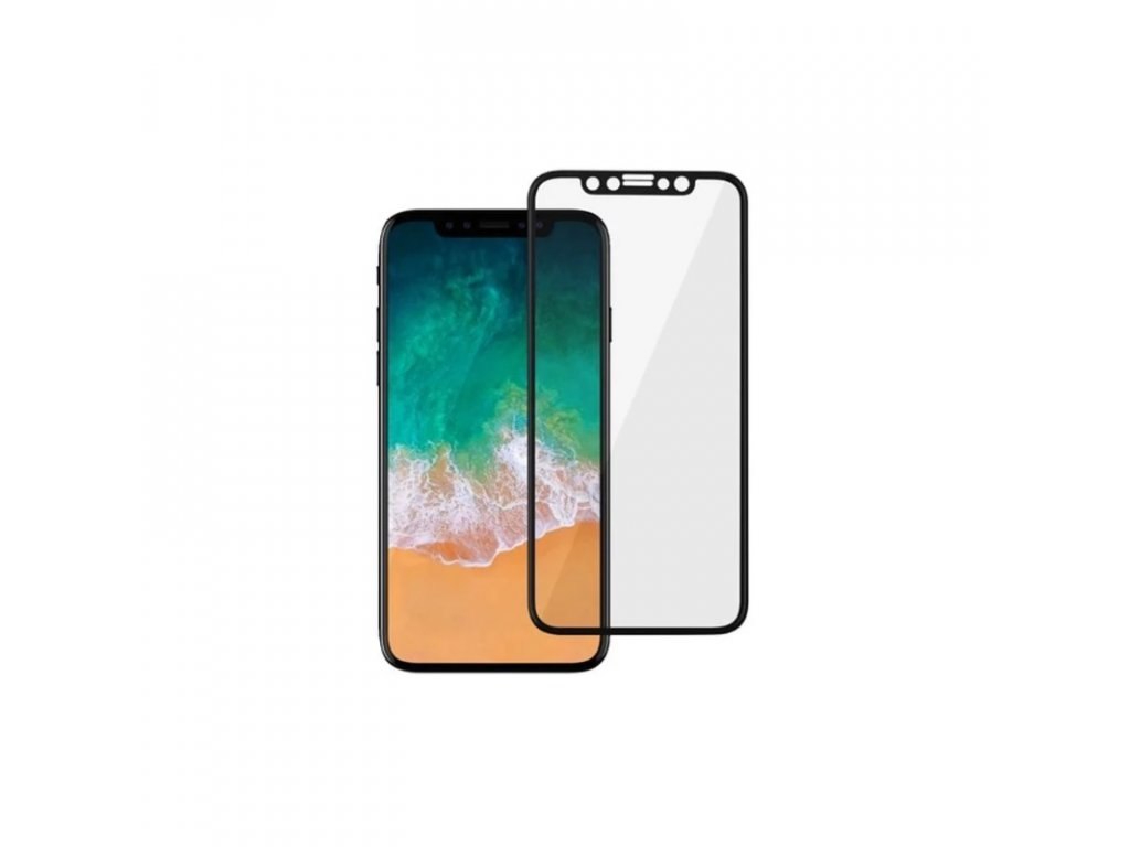 iPhone X 3D Tvrzené sklo Premium Tempered Glass