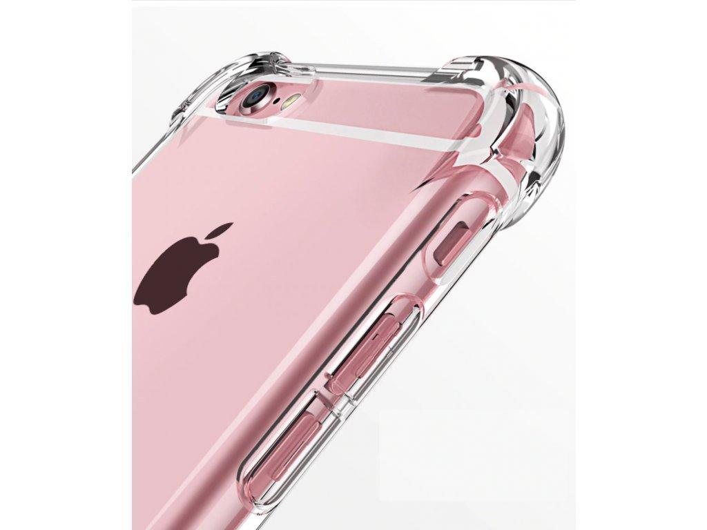 Silikonový obal Apple iPhone 5/5S/SE - čirý