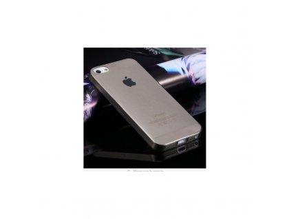 Pouzdro Acase iPhone 5/5S Silikonové Space grey