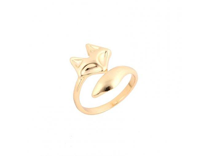 prsten liska zlata2