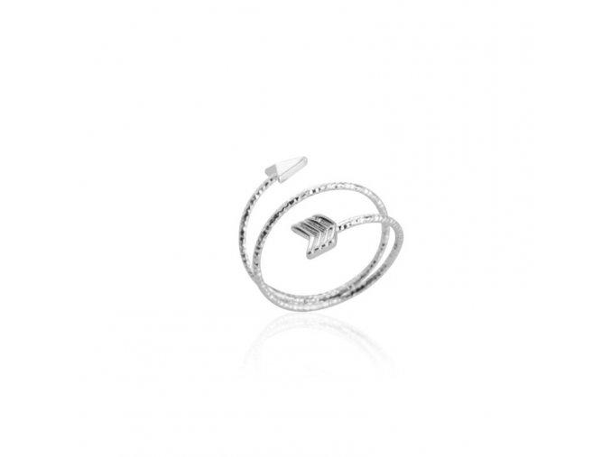 prsten sipka stribrna2
