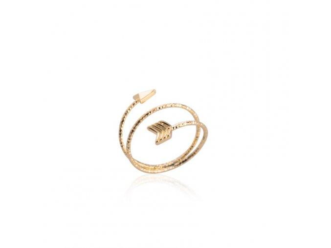prsten sipka zlata2