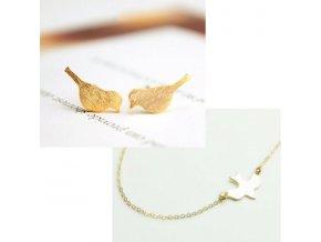 Set ptáček zlatá