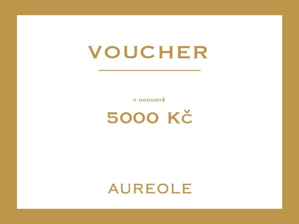 voucher aureole 5000kc Kreslicí plátno 1 kopie