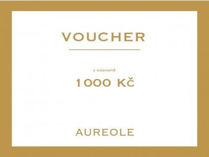 voucher aureole 1000kc Kreslicí plátno 1 kopie
