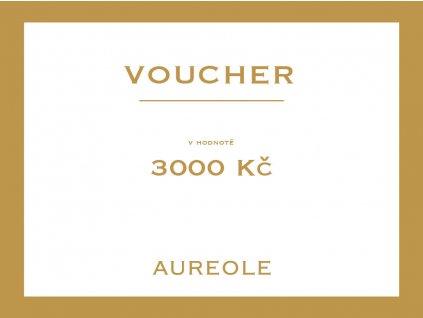 voucher aureole 3000kc Kreslicí plátno 1 kopie