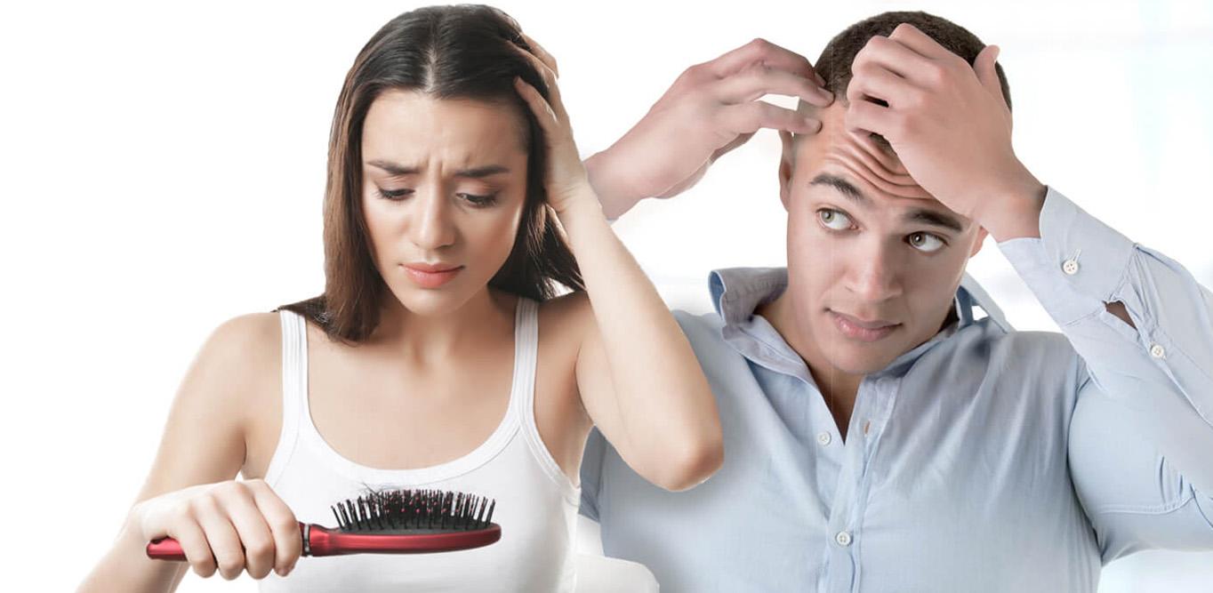 Jak poznáte, že vám vlasy vypadávají nadměrně? Zkuste tahový test