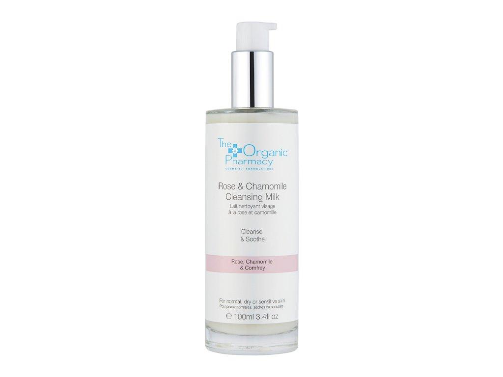The Organic Pharmacy Rose & Chamomile Cleansing Milk Aurio 01