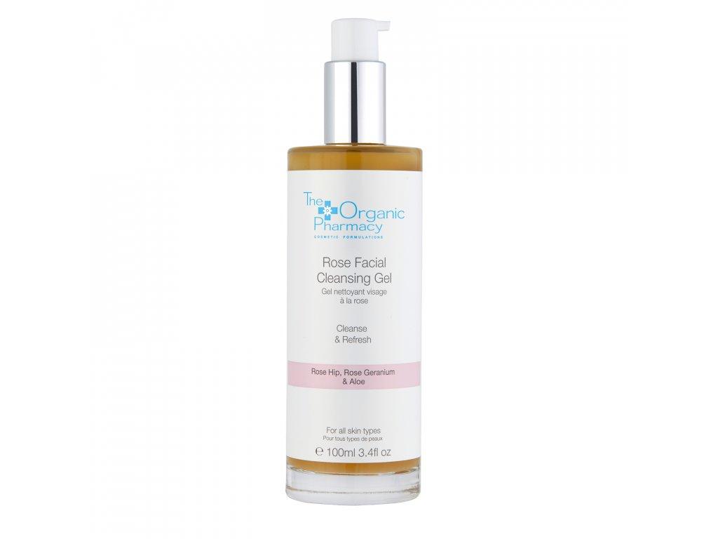 The Organic Pharmacy Rose Facial Cleansing Gel Aurio 01