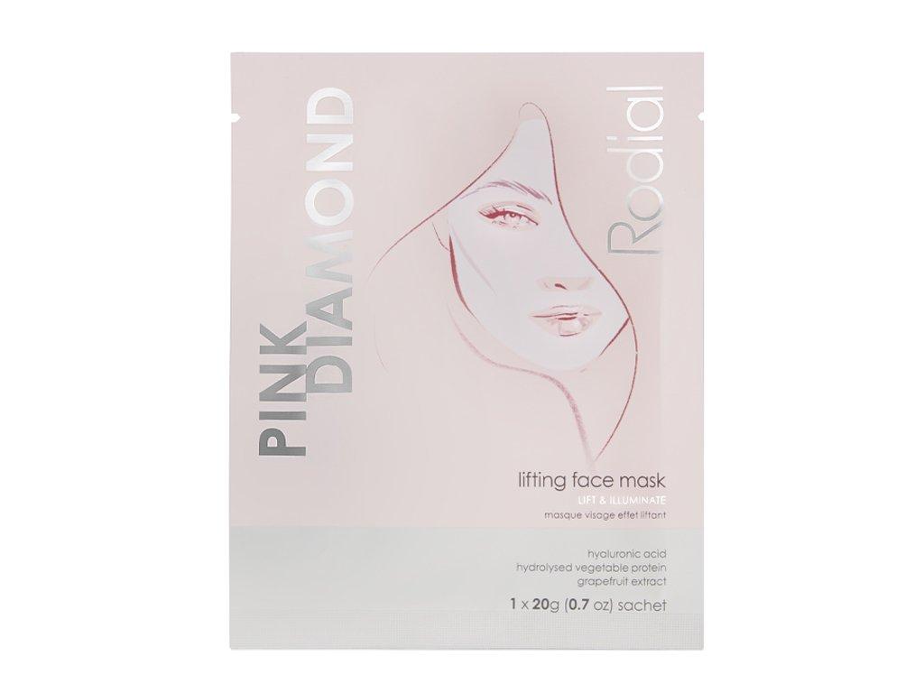 PINK DIAMOND BOX +LIFTING FACE MASK x 4 AURIO 01