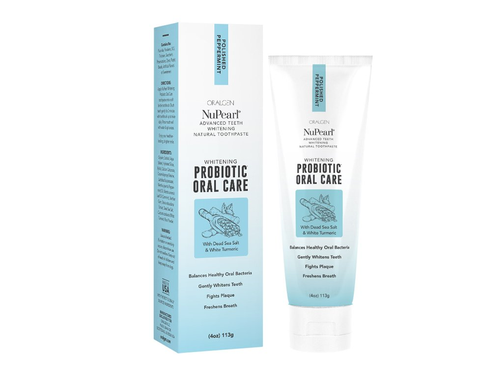 Oralgen NuPearl Whitening toothpaste Aurio 01