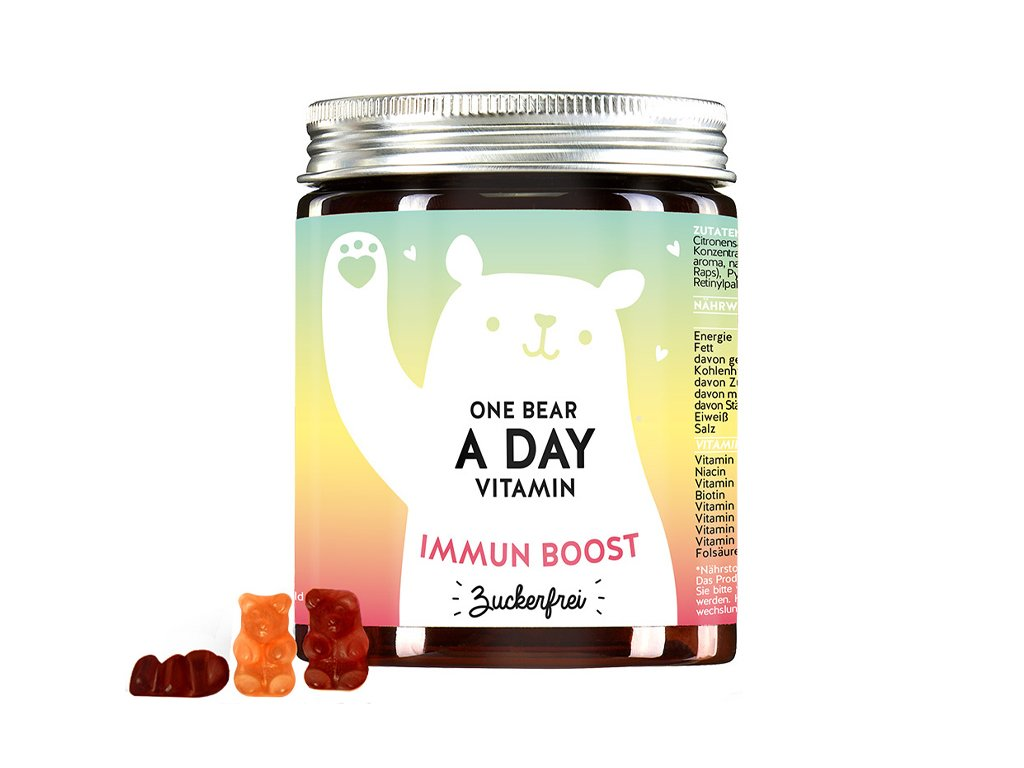 Bears With Benefits One Bear a Day vitaminy pro podporu imunity bez cukru Aurio 01