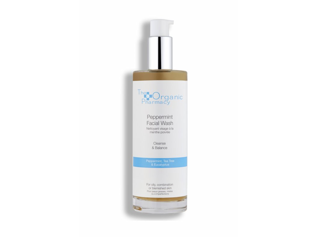 the organic pharmacy pepperming facial wash 5060063490465 AURIO 1