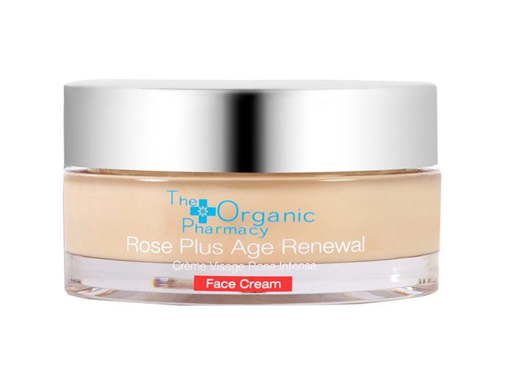 the organic pharmacy rose plus age renewal face cream 5060063490250 AURIO 1