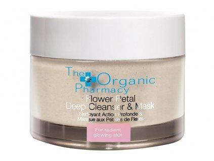 The Organic Pharmacy Flower Petal Deep Cleanser & Mask Aurio 01