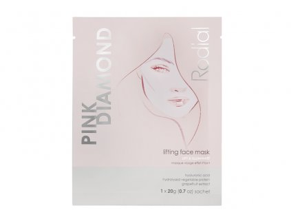 PINK DIAMOND BOX +LIFTING FACE MASK x 4 AURIO 01