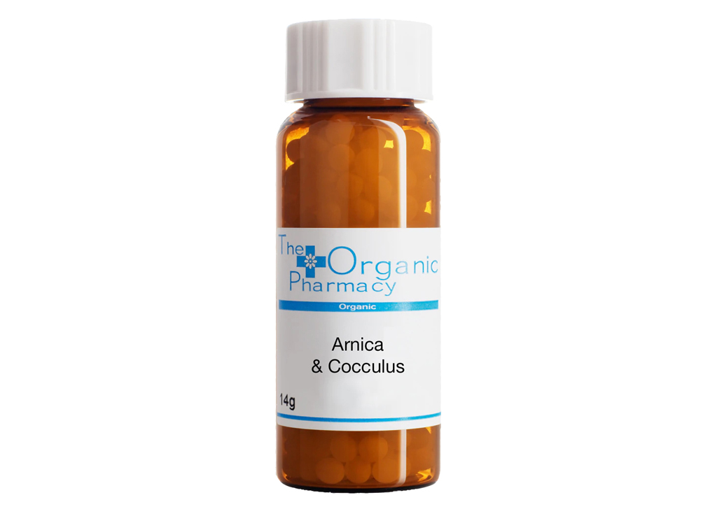 The Organic Pharmacy Arnica/Cocculus Complex 30c- Jet Lag
