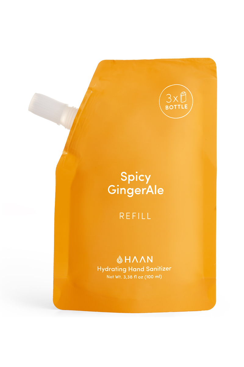 HAAN Spicy Ginger Ale - náhradní náplň do antibakteriálního spreje