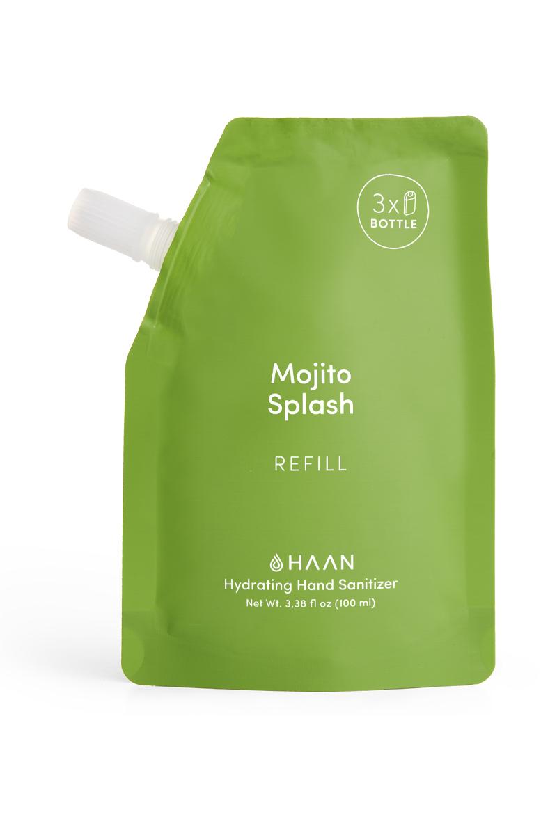 HAAN Mojito Splash - náhradní náplň do antibakteriálního spreje