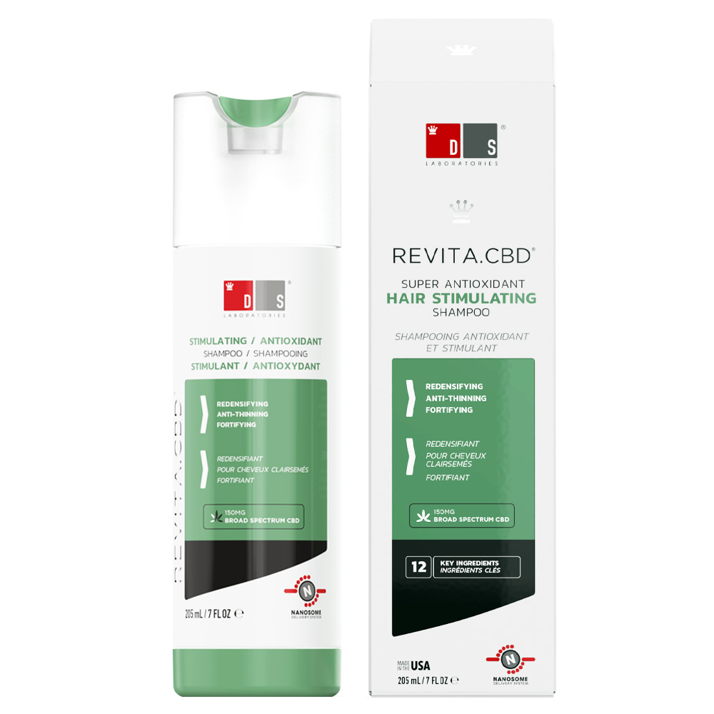 DS Laboratories antioxidační šampon proti vypadávání vlasů Revita CBD
