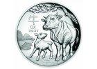 Investiční stříbrné mince Lunar III