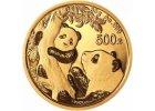 Chinese Panda zlaté investiční mince