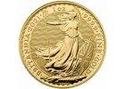 Britannia zlaté investiční mince