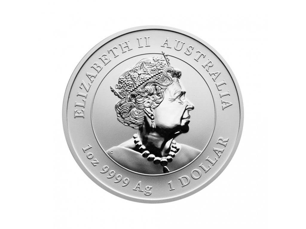 Stříbrná investiční mince Rok Tygra Lunar III 1/2 Oz 2022