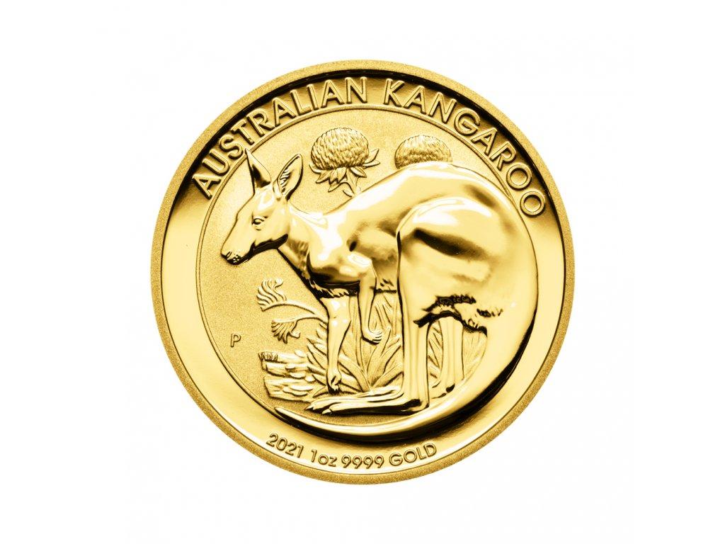 Zlatá investiční mince Kangaroo 1/4 Oz