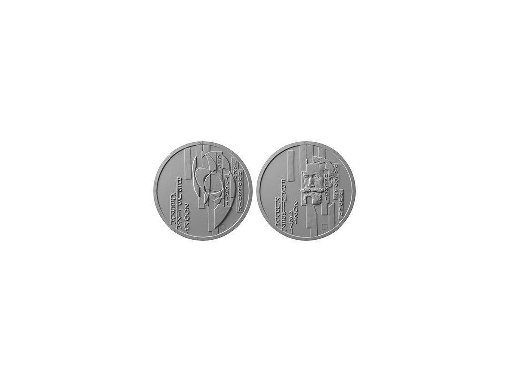 Stříbrná mince 200 Kč František Kupka 1oz 2021 Standard