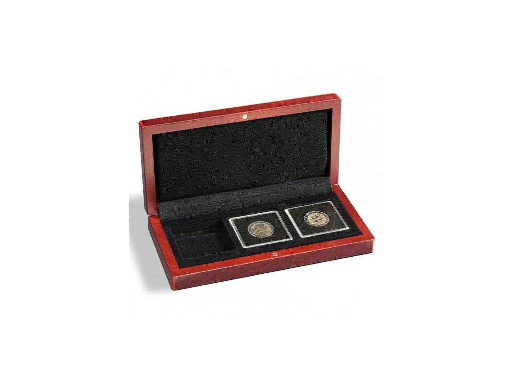 Univerzální hnědá krabička pro 3 mince do váhy 1oz