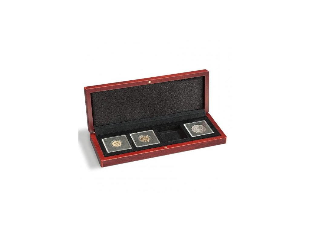 Univerzální hnědá krabička pro 4 mince do váhy 1oz