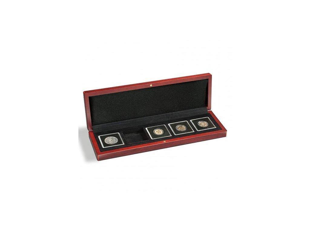 Univerzální hnědá krabička pro 5 mincí do váhy 1oz