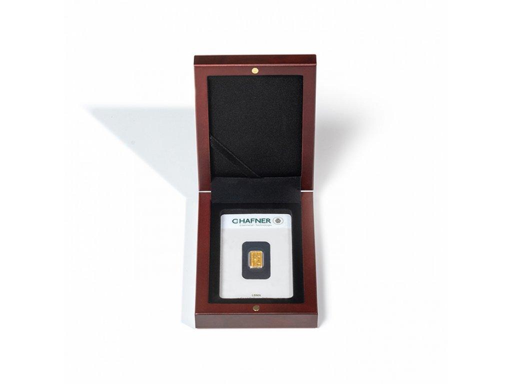 Univerzální hnědá krabička pro 1 zlatý slitek
