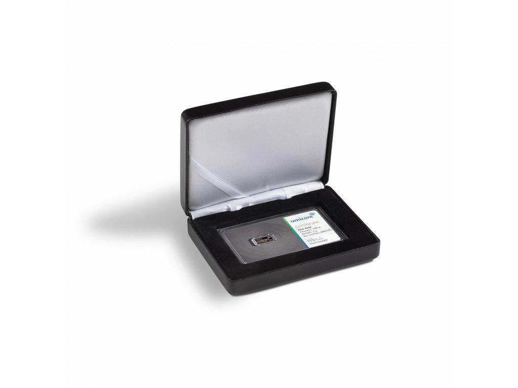 Univerzální černá krabička pro 1 zlatý slitek