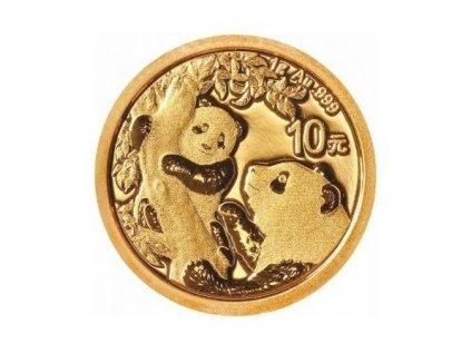 Zlatá investiční mince Panda 1g