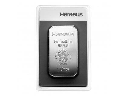 31,1g investiční stříbrný slitek Heraeus