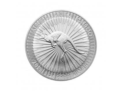 Stříbrná investiční mince Kangaroo 1 Oz