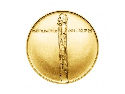 Zlatá mince 10000 Kč Jan Hus 1oz 2015 Standard
