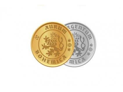 Zlatá mince Karel IV. Jednodukát Československý 600. výročí úmrtí 1982