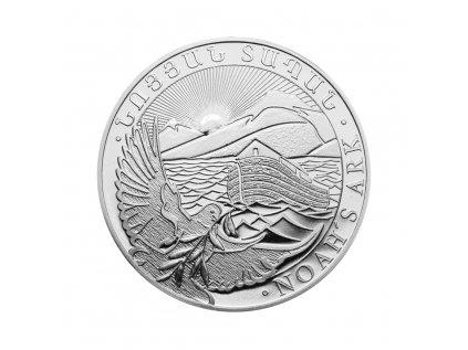 Stříbrná investiční mince Noemova archa 1 Oz