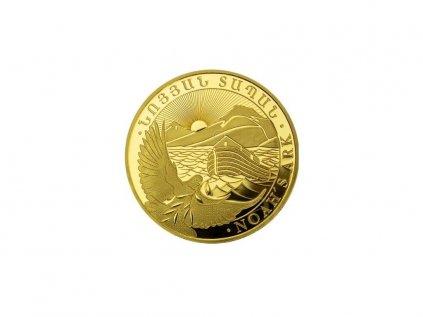 9447 zlata investicni mince noemova archa 1 4 oz