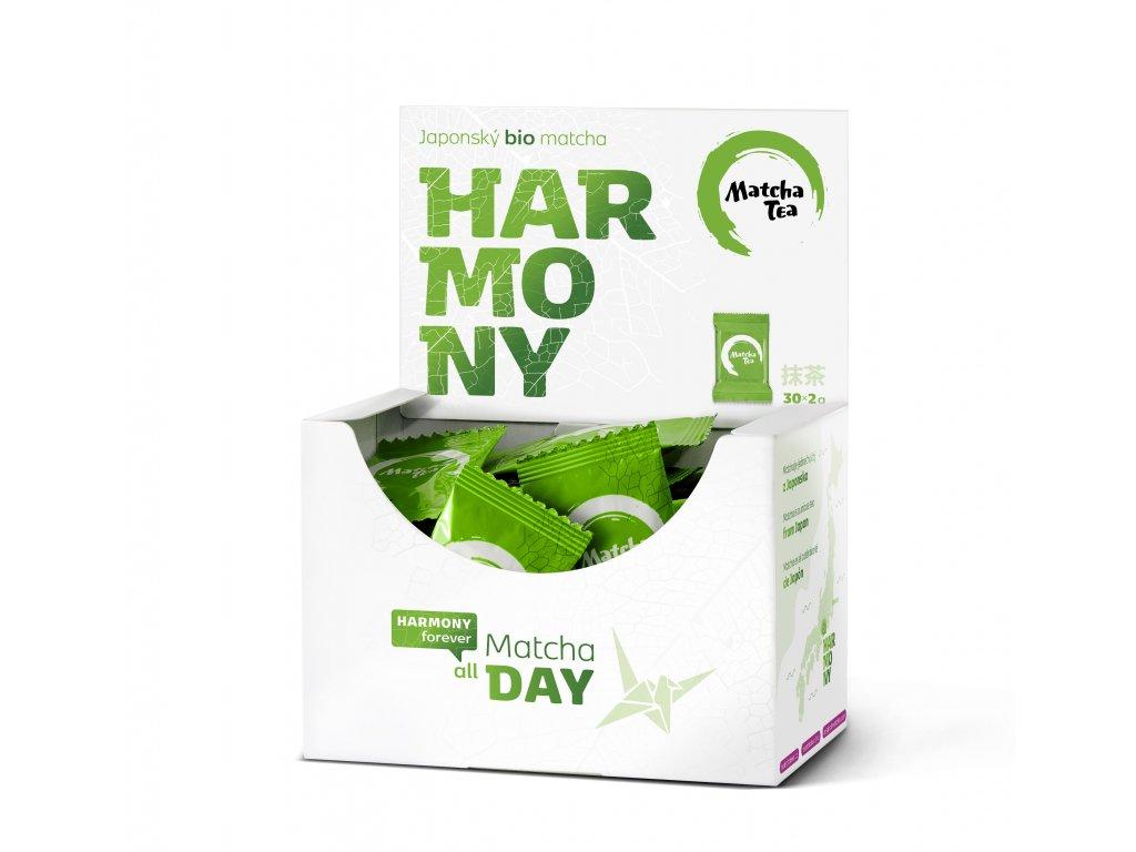 matcha tea harmony krabicka otevrena