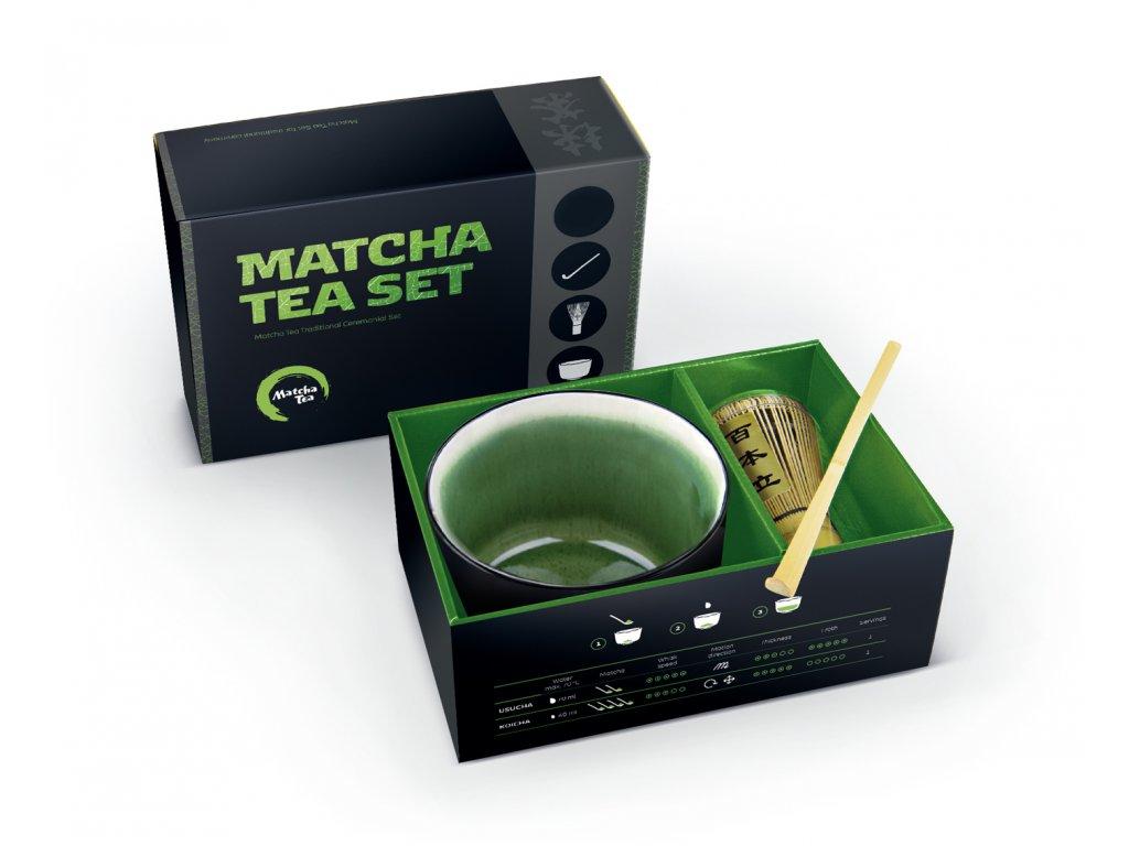 set pre tradicnu pripravu matcha hiroki