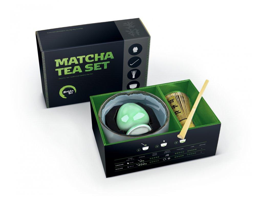 set pre tradicnu pripravu matcha kaito
