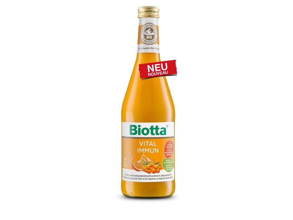 Biotta Vital Imunita - akcia 5+1 zdarma