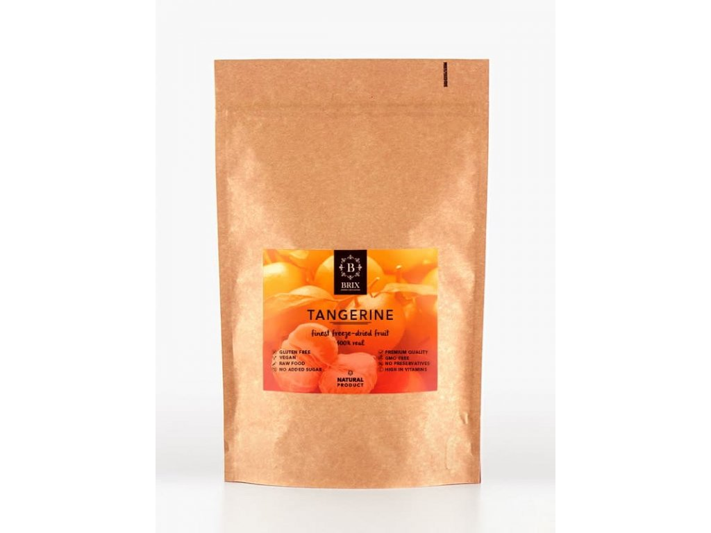 Mrazom sušená mandarínka 45g -