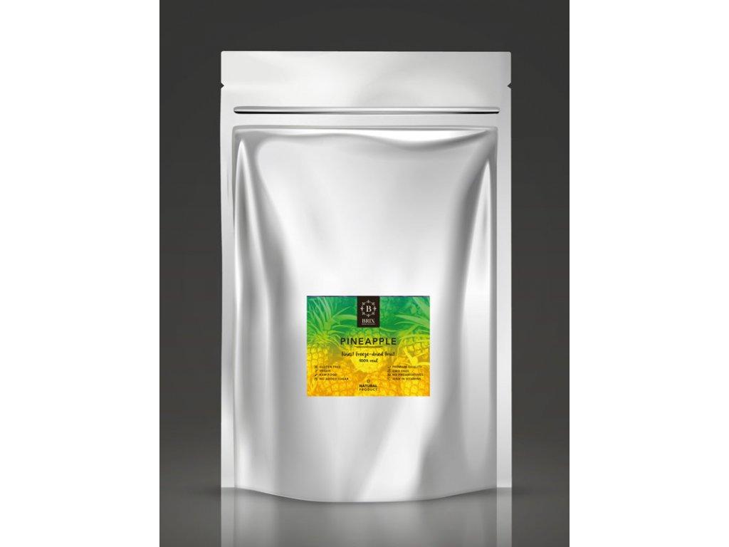 Mrazom sušený ananás - XXL 500g
